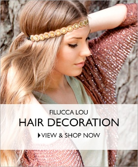 Hairdecorations from Filucca Lou.