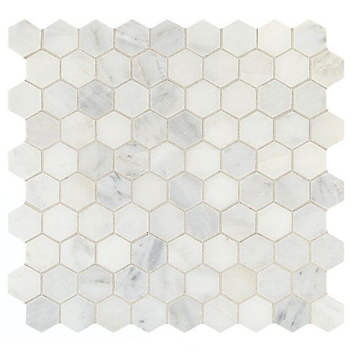Addison Place natural stone mosaic are the ultimate in eye-catching, diverse, and unique mosaic tile. This collection features a variety of mosaic tile sizes and shapes such as hexagon, random linear, and traditional square in sizes starting at 12 in. x 12 in. It also features a wide selection of color blends allowing you to pick the perfect tile for your style. Perfect for indoor applications on floors, walls, or countertops.