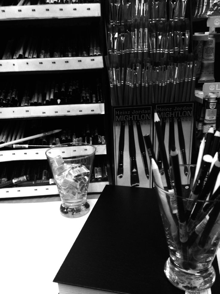 Art supplies at the UofG Bookstore