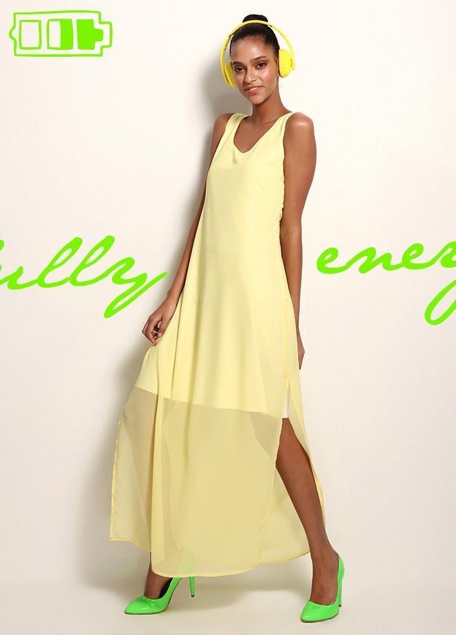 Clubbomba Uzun şifon elbise Markafoni'de 69,90 TL yerine 29,99 TL! Satın almak için: http://www.markafoni.com/product/3520459/