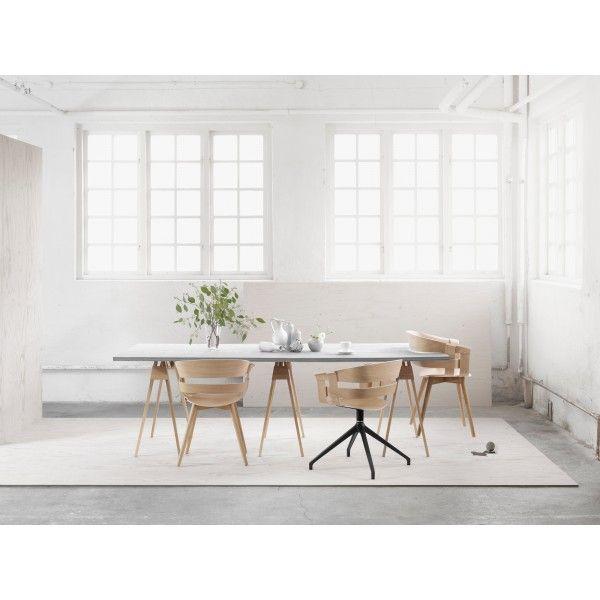Design House Stockholm Wick Tube stoel. Met deze #stoel van #DesignHouseStockholm haal je de Scandinavische stijl in huis! #design #Flinders