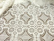 Pizzo floreale tessuto larghezza 120 (cm)