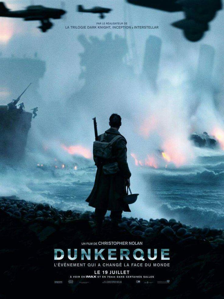 """Dans la série """"il n'est jamais trop tard"""" : retour sur le Dunkerque de Christopher Nolan http://ow.ly/zb5G30eFoby"""