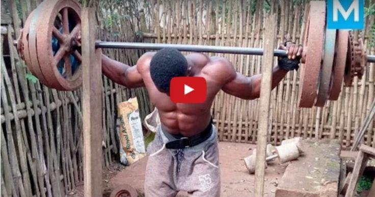 Βίντεο: Έτσι «Χτίζουν Κορμί» Οι Bodybuilders Στην Αφρική! Crazynews.gr