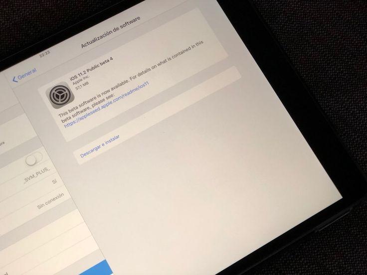 Título : iOS 11.2 Beta 4, tvOS 11.2 , macOs 10.13.2 y watchOS 4.2 disponible para los desarrolladores.  Extracto del artículo : Apple hoy ha lanzado su cuarta beta de iOS 11.2, tvOS y watchOS 4.2, junto a macOS 10.13.2. Este finde semana está siendo muy movido...
