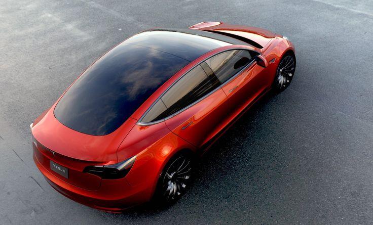 Samochód elektryczny dla mas... Zobacz co już na jego temat wiemy. Model 3 podbije rynek już w 20017.