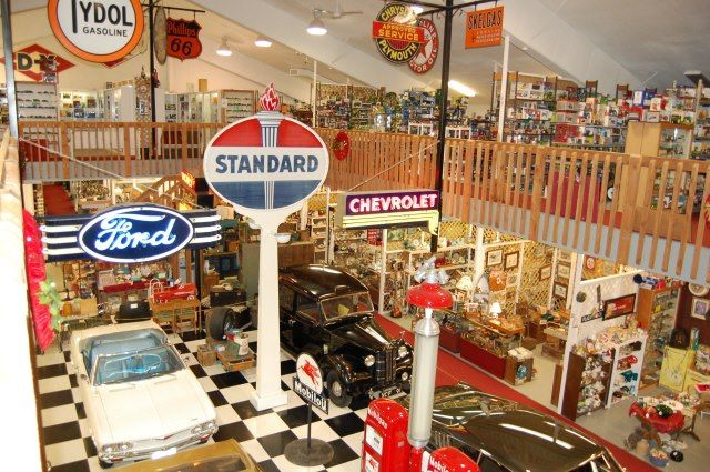 This massive antique mall is like the holy grail for antique lovers and collectors.