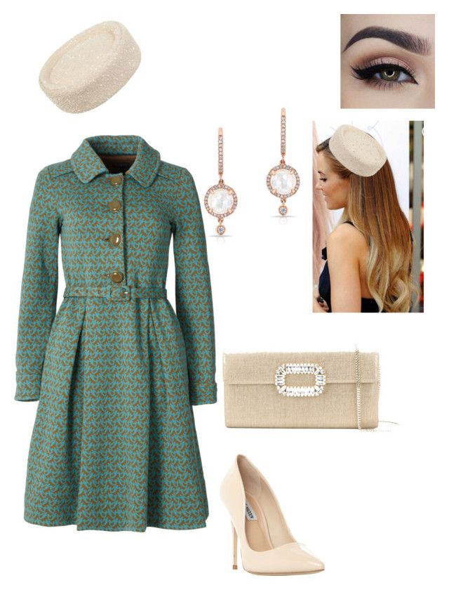 """""""Untitled #716"""" by lovelifesdreams on Polyvore featuring Orla Kiely, Steve Madden, Anne Sisteron and Roger Vivier"""