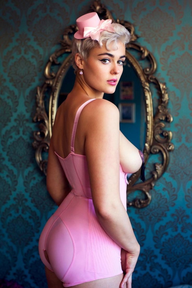 "For the last three years, Stefania Ferrario has been travelling and promoting healthy curvy bodies within the modeling industry, which has seen the Australian beauty garner plenty to attention from the public: ""My distinctive short blonde hair, bright and friendly personality, along with my positive body confidence has garnered me a large social media following."""