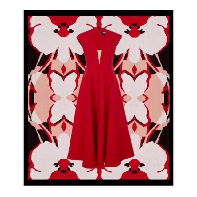 Wonderful red dress