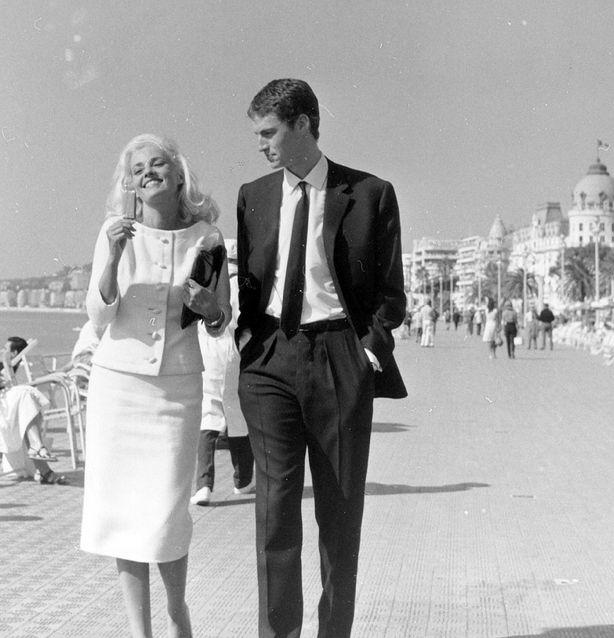 """Claude Mann and Jeanne Moreau, 1962, """"La baie des anges."""""""