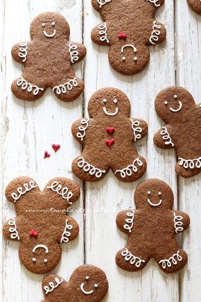 Biscotti Pan di Zenzero(Gingerbread)- La miglior Ricetta Originale