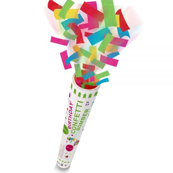 Birthday confetti bomber