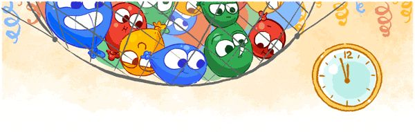 Happy New Year's Eve from Google!