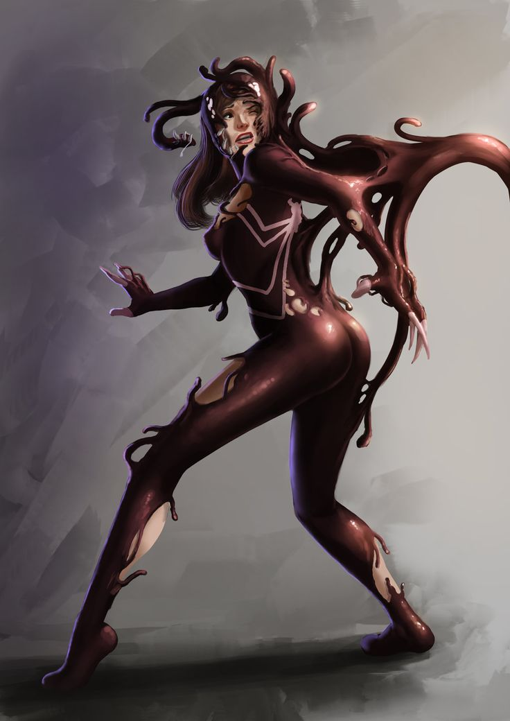 Symbiotized Ultimate Spider Woman - Commission by ...