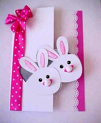 Bunny Slipper Card
