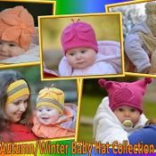 Autumn/Winter Baby Hat Collection - via @Craftsy