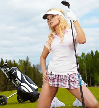 Sexy Golf Caddies  Sexy Black Jack Dealers - The Bachelor Plan