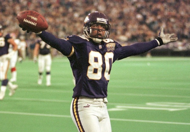 Wide receivers in NFL history superior to Cris Carter: Jerry Rice. That's the list. Canton voters, what the fuck is up?