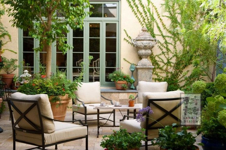 77 best fountains rustic provence french stone fountains for French style courtyard ideas