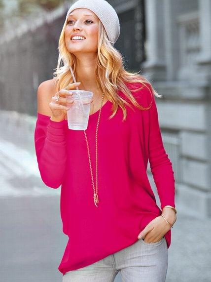 Best 25  Hot pink sweater ideas on Pinterest | Hot pink shirt ...