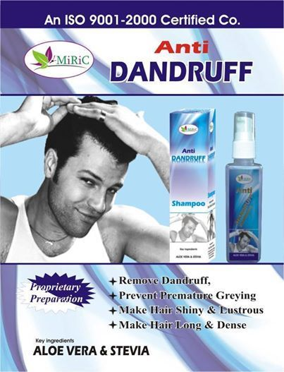 Mirik Healthfoods Pvt. Ltd. brings you unique proprietary preparation for   Remove Dandruff  Prevent Premature Greying  Make Hair Shiny and Lustrous  Make Hair Long and Dense  • 100percent Ayurvedic Shampoo. No side effects. MRP Rs. 249.00. •