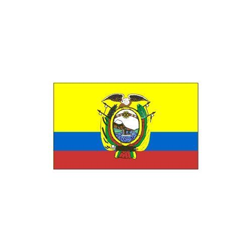 Ecuador Flag 3ft x 5ft Superknit Polyester by US Flag Store. $9.95. Made Outside of the US. Durable Printed 3ft x 5ft Polyester Flag with 2 Grommets for Indoor or Outdoor Use. Ecuador Flag. Low Cost Shipping Available!. Superknit Polyester Often Lasts as Long as Nylon. Durable Ecuador Flag size 3ft x 5ft printed on a high tech silky looking knitted polyester fabric. Compares in quality and durability to more expensive nylon flags and not the cheap polyester flags sold by other ve...