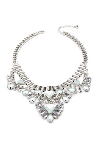 $16.90 Triangle Statement Necklace | FOREVER21 - 1000117266