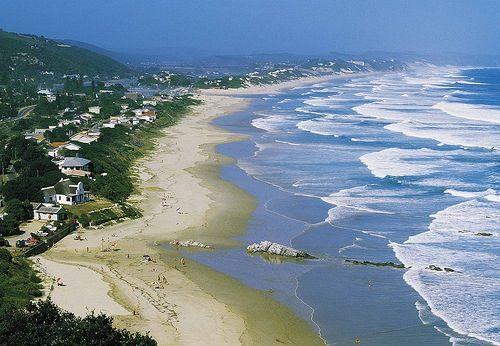 Durban north-coastline off Ballito exurbia.