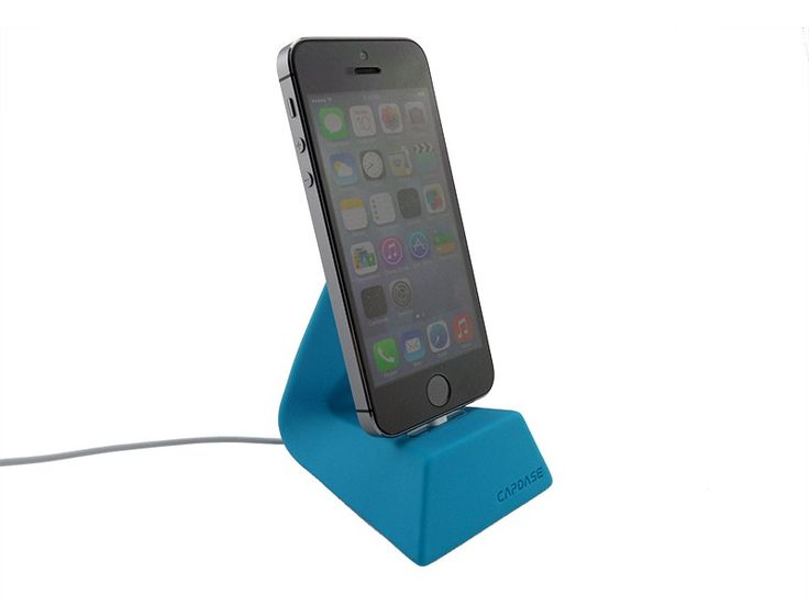 Docking station iPhone 5/5S/6/6 Plus capdase versa dock Blauw