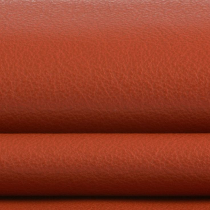 The R9310 Paprika 100% genuine leather by KOVI Fabrics features a natural leather pattern and Red as its colors. It is a Genuine Leather, Performance Leather and it is made of 100% Genuine Leather from Germany. It is Tear, Water, Fade, Stain, Scratch Resistant, Free of harmful chemicals which makes this genuine leather by the hide ideal for residential, commercial and hospitality upholstery projects. This genuine leather hide is 50 square feet large on average and is sold by the whole hide.
