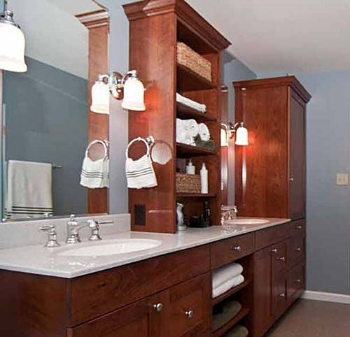 17 Best Images About Bathroom On Pinterest Master Bath Double Sinks And Va