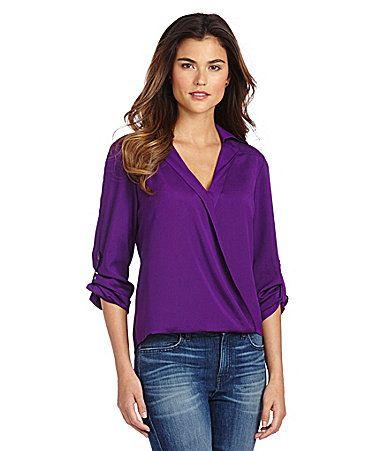 gianni bini fan fav leni blouse dillards  clothes
