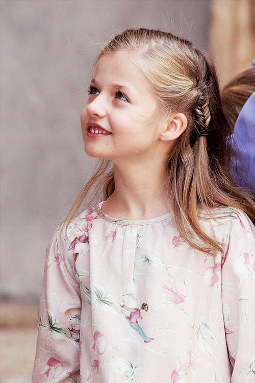 Leonor, Princess of Asturias-the third female to hold the princely title by way of birth, she is first in line to the Spanish throne and will one day become Queen