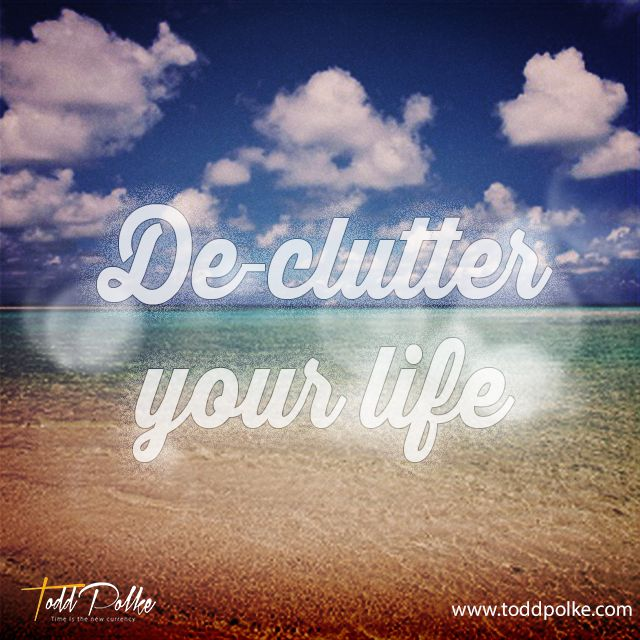 Nothing new will come into your life until you clear out the clutter which clogs your past. #PersonalDevelopment #Success http://bit.ly/1BvQWD9