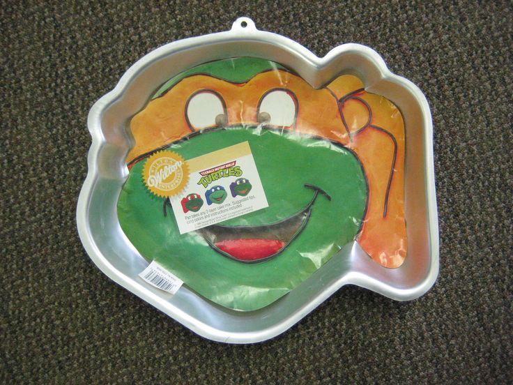 Cake Pans | Teenage Mutant Ninja Turtle Cake Pan by LaurasVariety on Etsy