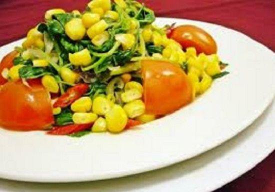 Masakan Rumahan Sederhana Tumis Jagung Manis Resep Resep Masakan Tumis