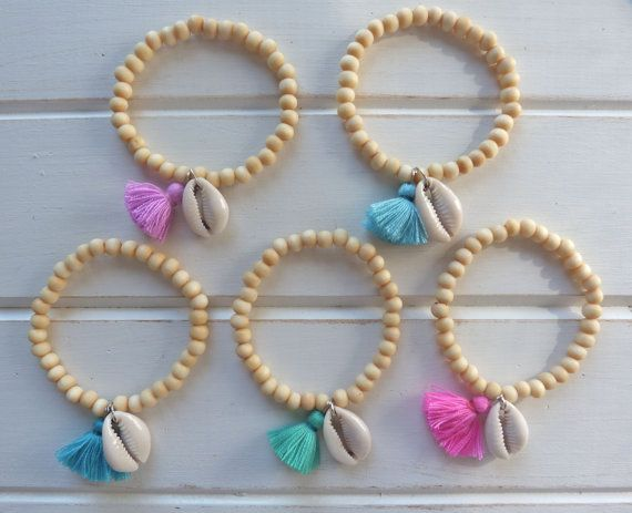 make mermaid bracelets - party favors