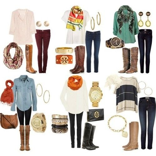 Fall outfits by AudraL.. Love them all. I wish I had money haa