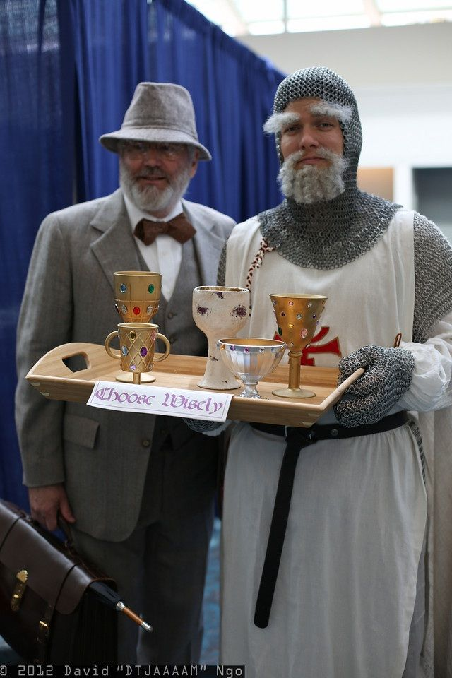 Dr. Henry Jones & Grail Knight - Impressive Cosplay From Comic-Con 2012 | The Mary Sue
