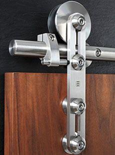 Aço inoxidável deslizante Hardware Porta
