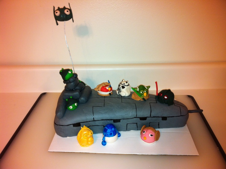 Angry Birds Star Wars Cake Topper Uk