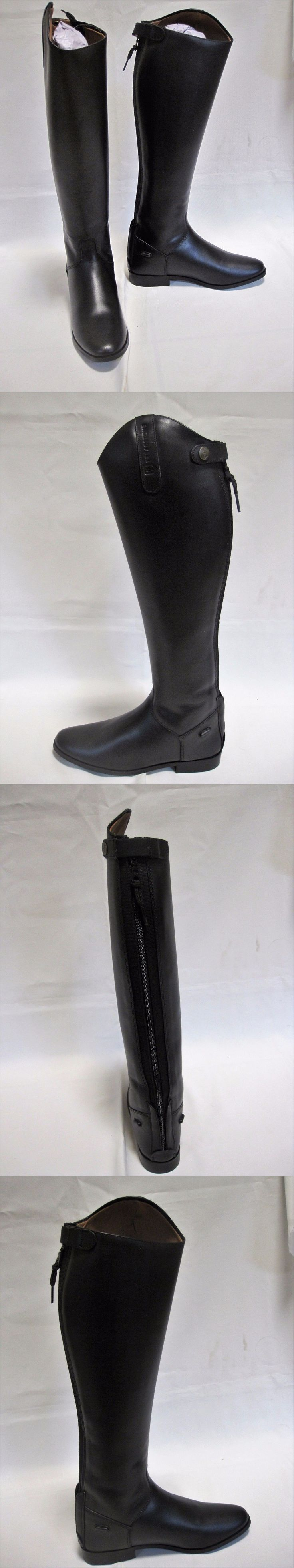 Tall Riding Boots 183382: Treadstone Ladies Equestrian Tall Riding Dress Boot Size 7R Black -> BUY IT NOW ONLY: $42.49 on eBay!