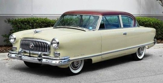1952 Nash Ambassador 2-door Sedan