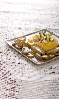 Castagne e porcini trifolati con purè di ortaggi - Tutte le ricette dalla A alla Z - Cucina Naturale - Ricette, Menu, Diete