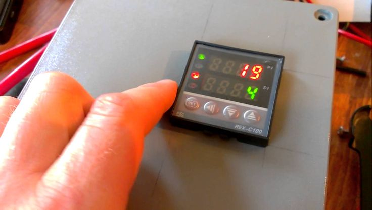 DIY Temperature Control using a PID control and a solid state relay