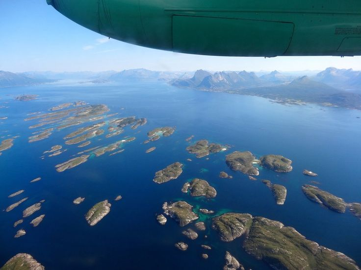 Flights from Oslo to the Lofoten area stop in the town of Bodø. You can reach Lofoten via a three to four-hour ferry ride or continue on by turbo-prop with Widerøe airlines for the short flight (20 to 30 minutes) to Svolvaer, Lofoten's capital. Board as soon as you can (there are no seating assignments on flights to Svolvaer) for window seat views that will set you dreaming before you even arrive.
