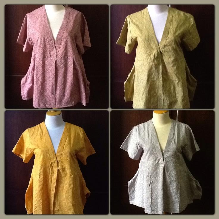 Batik emboss