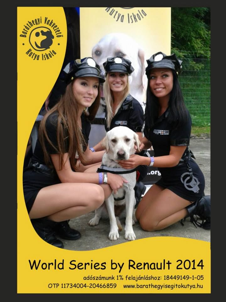 Police womens with guide dog ;)