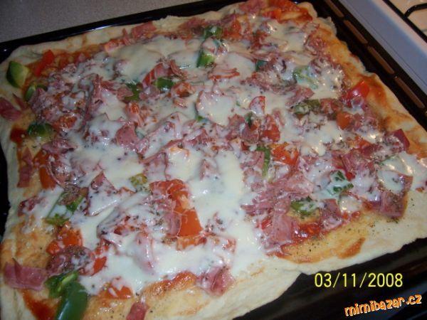 Super těsto na pizzu - nekynuté